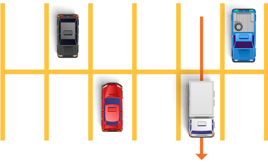 Avoiding Collisions While Parking And Moving From A Parked Position