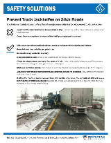 Prevent Truck Jackknifes on Slick Roads